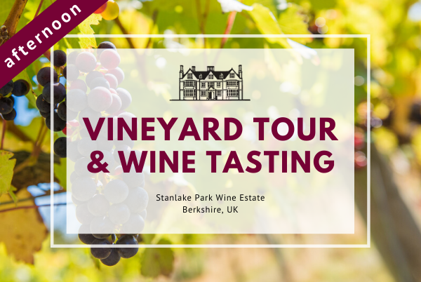 Saturday 11th January 2020 at 2 pm - Vineyard Tour & Wine Tasting