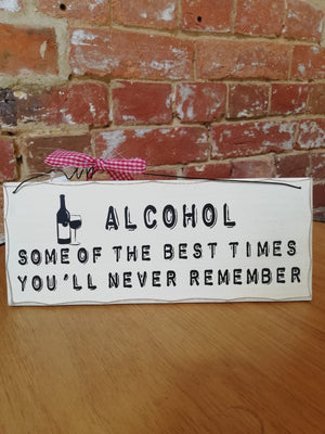 Funny Wine Plaques