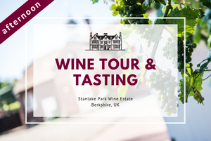 Saturday 6th February 2021 at 2 pm - Wine Tour & Tasting