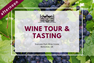Sunday 10th January 2021 at 2 pm - Wine Tour & Tasting
