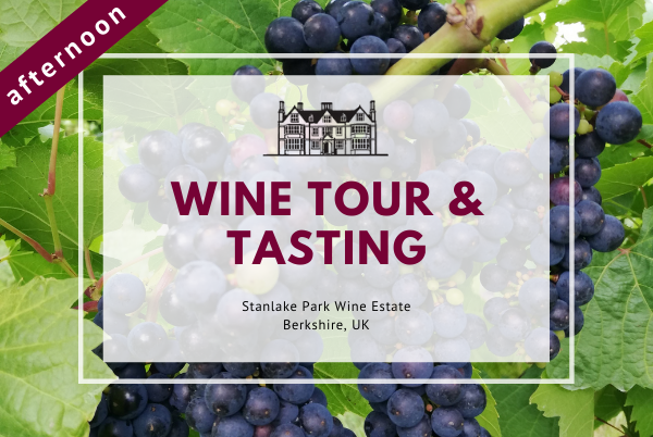 Saturday 16th January 2021 at 2 pm - Wine Tour & Tasting