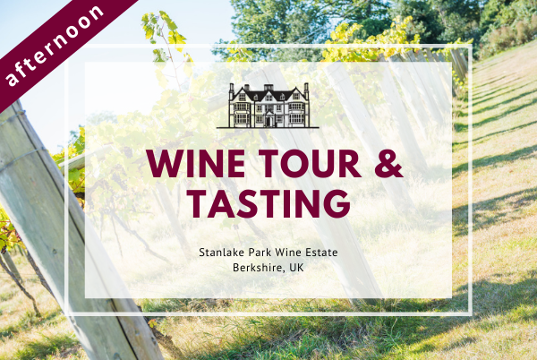 Friday 19th March 2021 at 2 pm - Wine Tour & Tasting