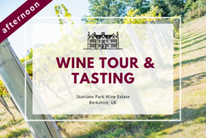 Friday 5th March 2021 at 2 pm - Wine Tour & Tasting