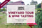 Saturday 21st November 2020 at 11 am - Vineyard Tour & Wine Tasting