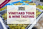 Sunday 25th October 2020 at 2 pm - Vineyard Tour & Wine Tasting