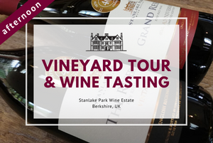 Friday 11th September 2020 at 2 pm - Vineyard Tour & Wine Tasting
