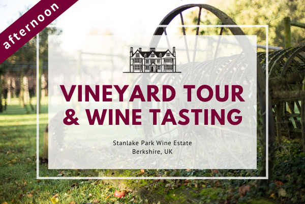Friday 3rd April 2020 at 2 pm - Vineyard Tour & Wine Tasting