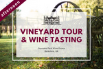 Saturday 4th April 2020 at 2 pm - Vineyard Tour & Wine Tasting