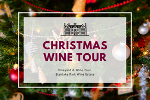 Thursday 30th December 2021 at 2 pm - CHRISTMAS Wine Tour & Tasting