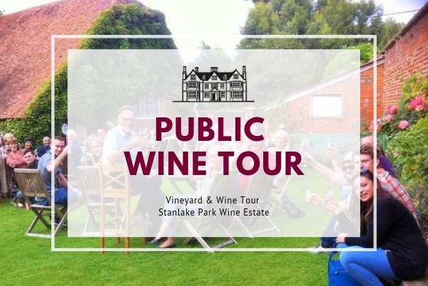 Sunday 13th October 2019 at 2 pm - PUBLIC - Vineyard & Winery Tasting Tour
