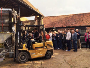 Sunday 22nd November 2020 at 2 pm - Vineyard Tour & Wine Tasting