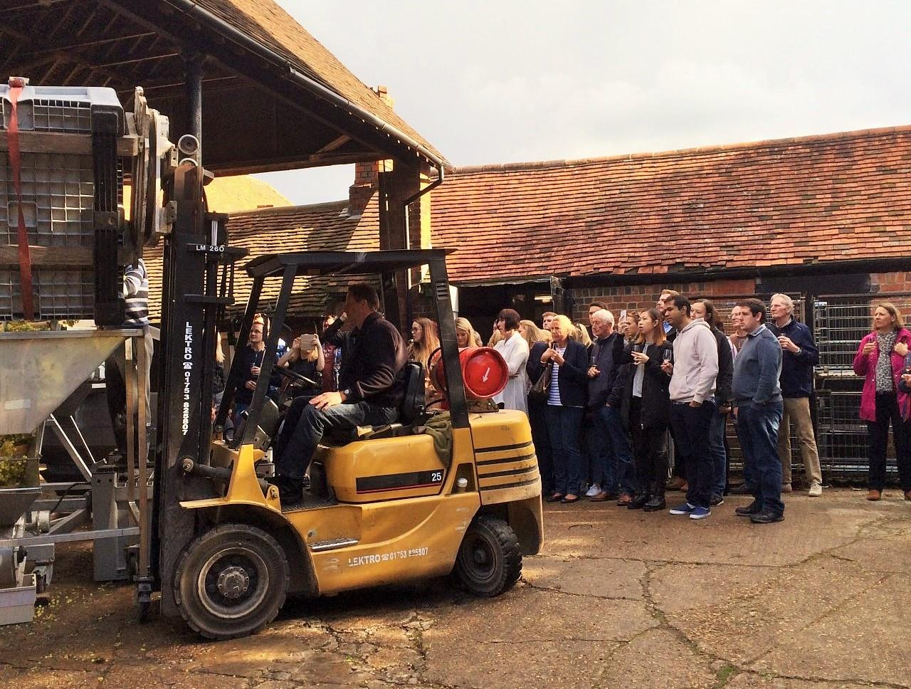 Monday 25th May 2020 at 2 pm - SPRING BANK HOLIDAY - Vineyard Tour & Wine Tasting