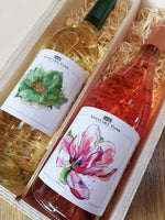 White & Rosé Wine Double Gift Box