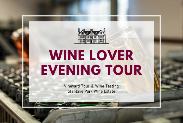 Friday 23rd August 2019 - 7pm EVENING WINE LOVER Tour
