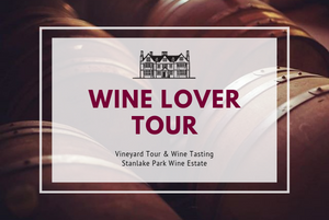 Sunday 11th August 2019 at 2pm - WINE LOVER Tour
