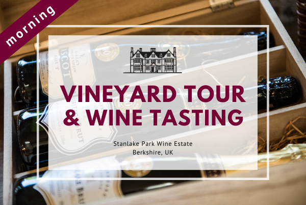 Sunday 19th July 2020 at 11 am - Vineyard Tour & Wine Tasting