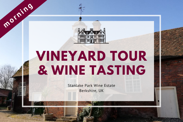 Saturday 22nd August 2020 at 11 am - Vineyard Tour & Wine Tasting