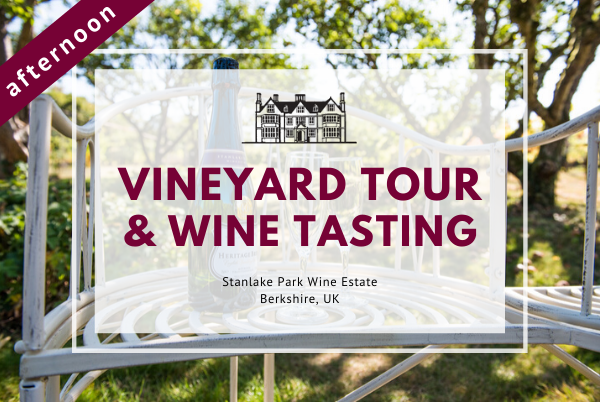 Friday 21st August 2020 at 2 pm - Vineyard Tour & Wine Tasting