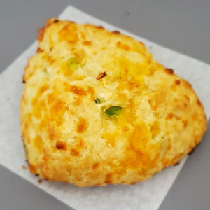 Cheddar Green Onion Scone