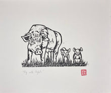 Load image into Gallery viewer, Pig with Piglets