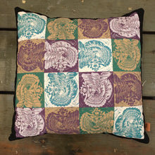 Load image into Gallery viewer, Seashell Quilted Sisters Throw Pillow Case