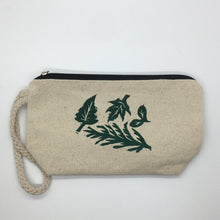 Load image into Gallery viewer, Foliage Zipper Pouch