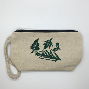 Foliage Zipper Pouch