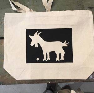 Goat & Pebble Co. Messenger Tote