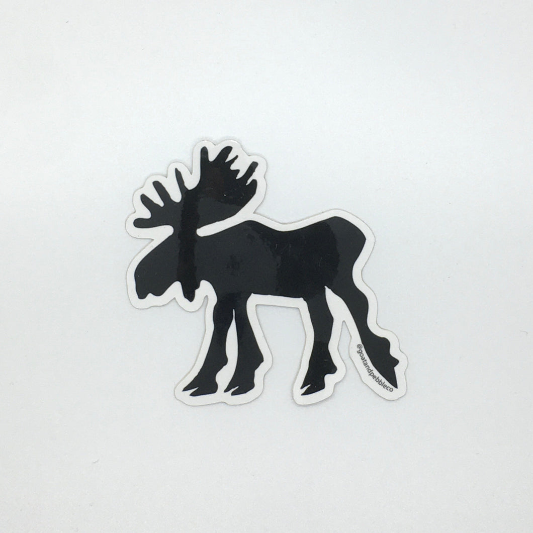 Large Moose Sticker
