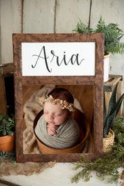Custom Calligraphy Frame