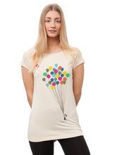 Laden Sie das Bild in den Galerie-Viewer, Balloons Girl Cap Sleeve sand