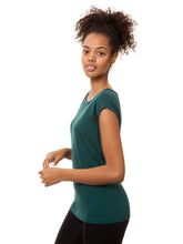 Laden Sie das Bild in den Galerie-Viewer, Cap Sleeve deep teal