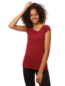 Cap Sleeve ruby