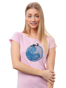 Moon Girl Cap Sleeve orchid