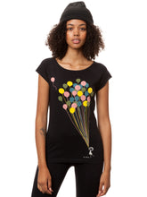 Laden Sie das Bild in den Galerie-Viewer, Balloons Girl Cap Sleeve black XS