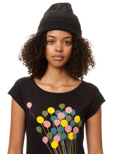 Balloons Girl Cap Sleeve black XS
