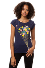 Laden Sie das Bild in den Galerie-Viewer, Balloons Girl Cap Sleeve midnight S