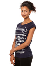 Laden Sie das Bild in den Galerie-Viewer, Summertime Cap Sleeve dark navy
