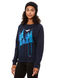 Wood Girl Sweater navy