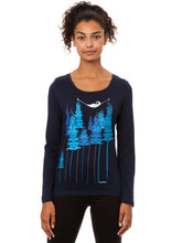 Laden Sie das Bild in den Galerie-Viewer, Wood Longsleeve navy
