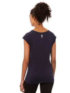 Summertime Cap Sleeve dark navy