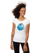 Laden Sie das Bild in den Galerie-Viewer, Moon Girl Cap Sleeve white