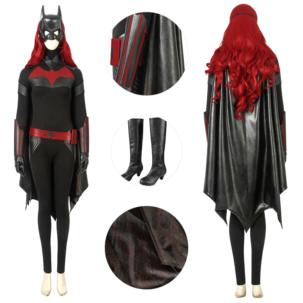 Batwoman Suit Kate Kane Deluxe Costume For Cosplay