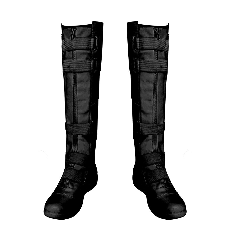 Black Widow 2020 Cosplay Boots Natasha Black Cosplay Shoes
