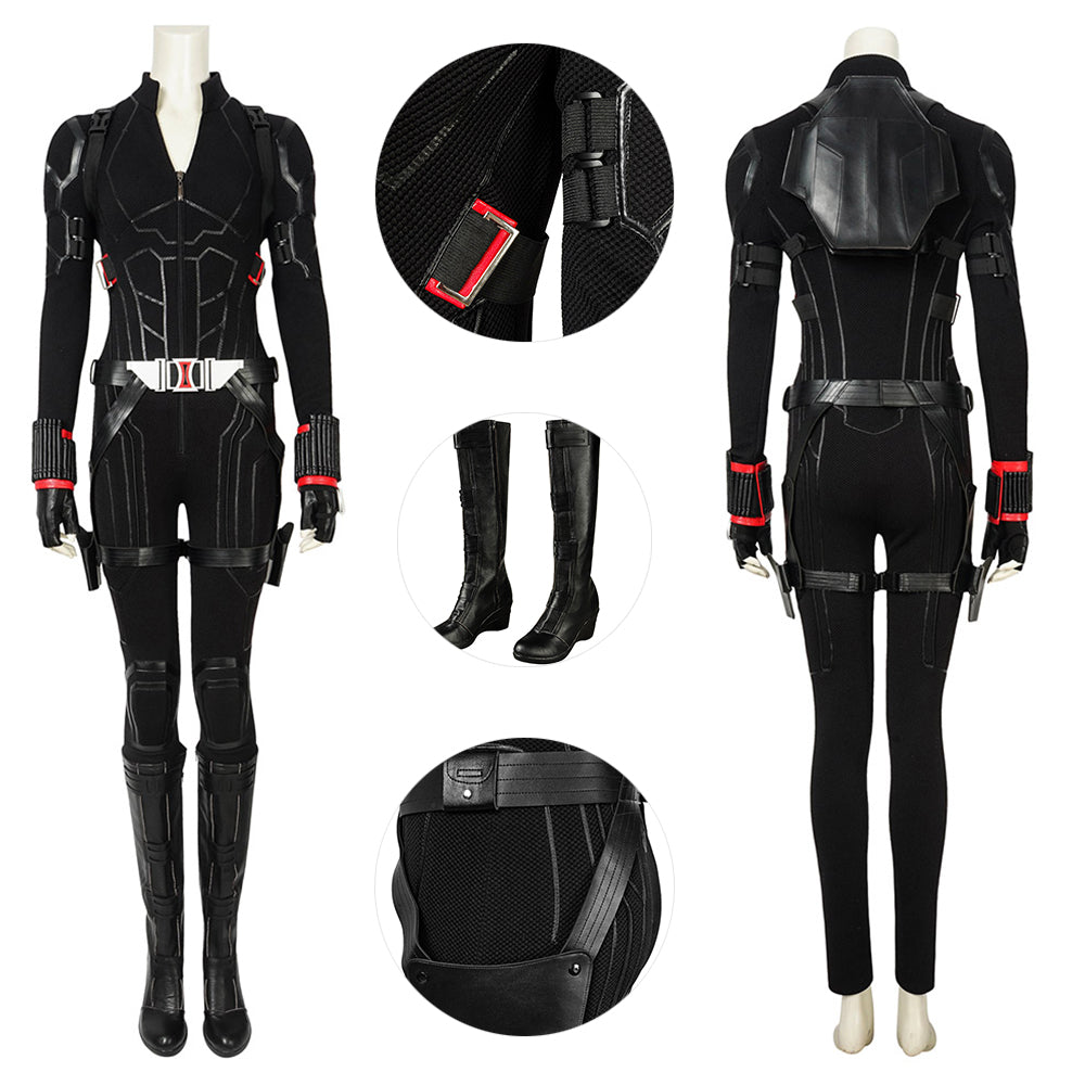 Black Widow Suit Avengers 4 Endgame Black Widow Cosplay Costumes Deluxe