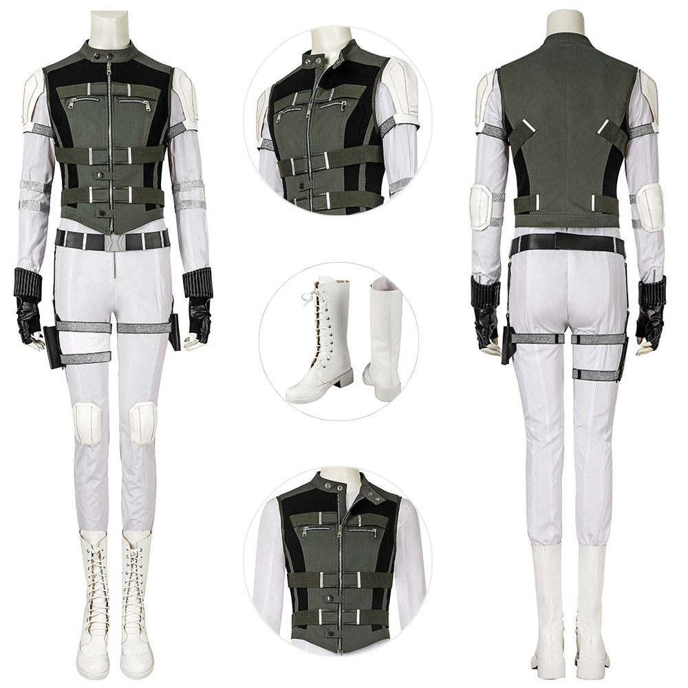 Black Widow Yelena Belova Costume For Female Cosplay Deluxe Edition