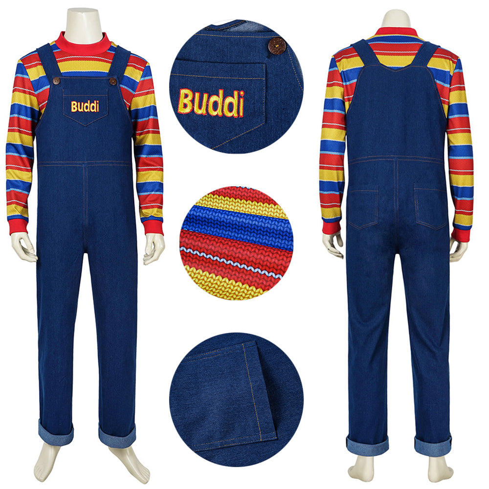 Buddi Doll Suit 2019 Child's Play Remake Cosplay Costumes For Halloween