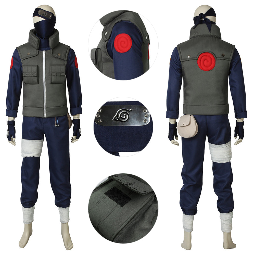 Copy Ninja Kakashi Cosplay Suit NARUTO Classic Cosplay Costumes