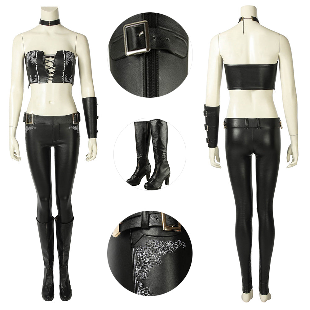 Devil May Cry V Trish Gloria Cosplay Suit DMC 5 Edition Cosplay Costume