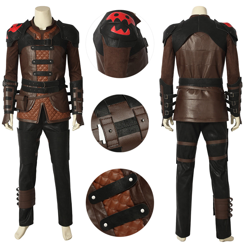 Hiccup Cosplay Costume How to Train Your Dragon 3 Deluxe Edition